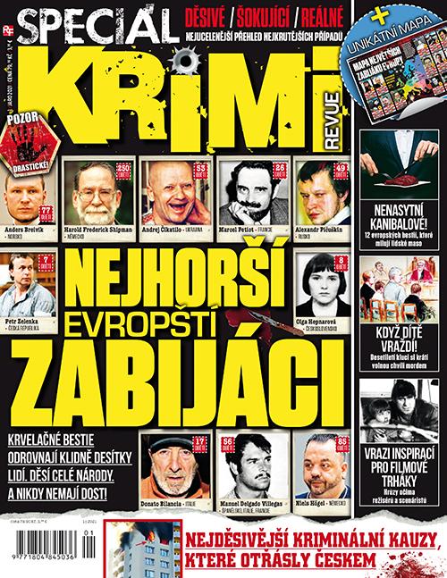 Aktuální číslo časopisu Krimi revue speciál