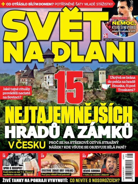 Aktuální číslo časopisu Svět na dlani