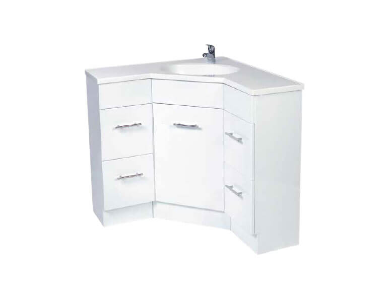 corner vanity units rf bathroom