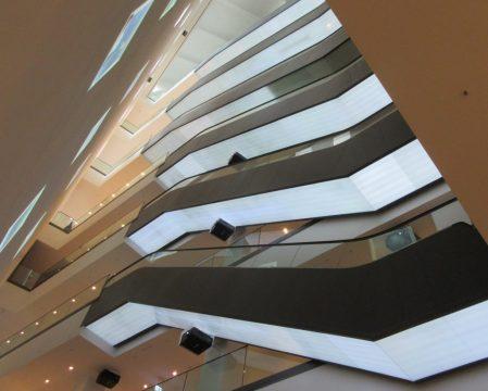 Staircase within the Dortmund U