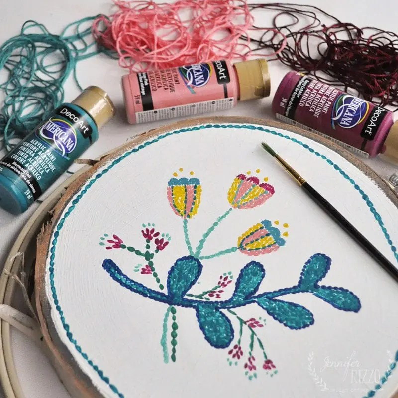 Embroidery Painting