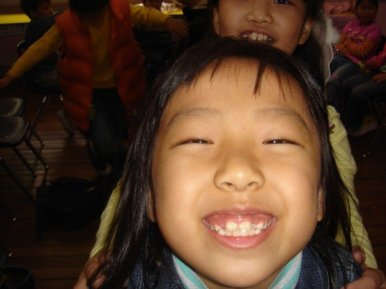 My students always smiled in Korea.