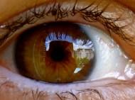zoom on my eye