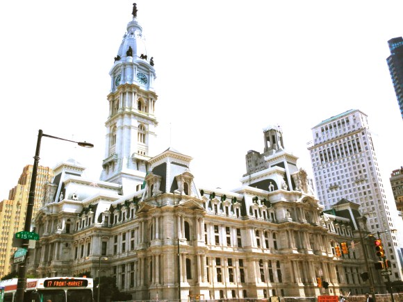 unreal building in Philly