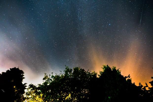 Perseiden-Nachthimmel