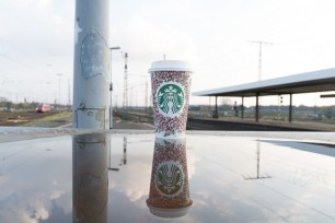 Starbucks Spiegel