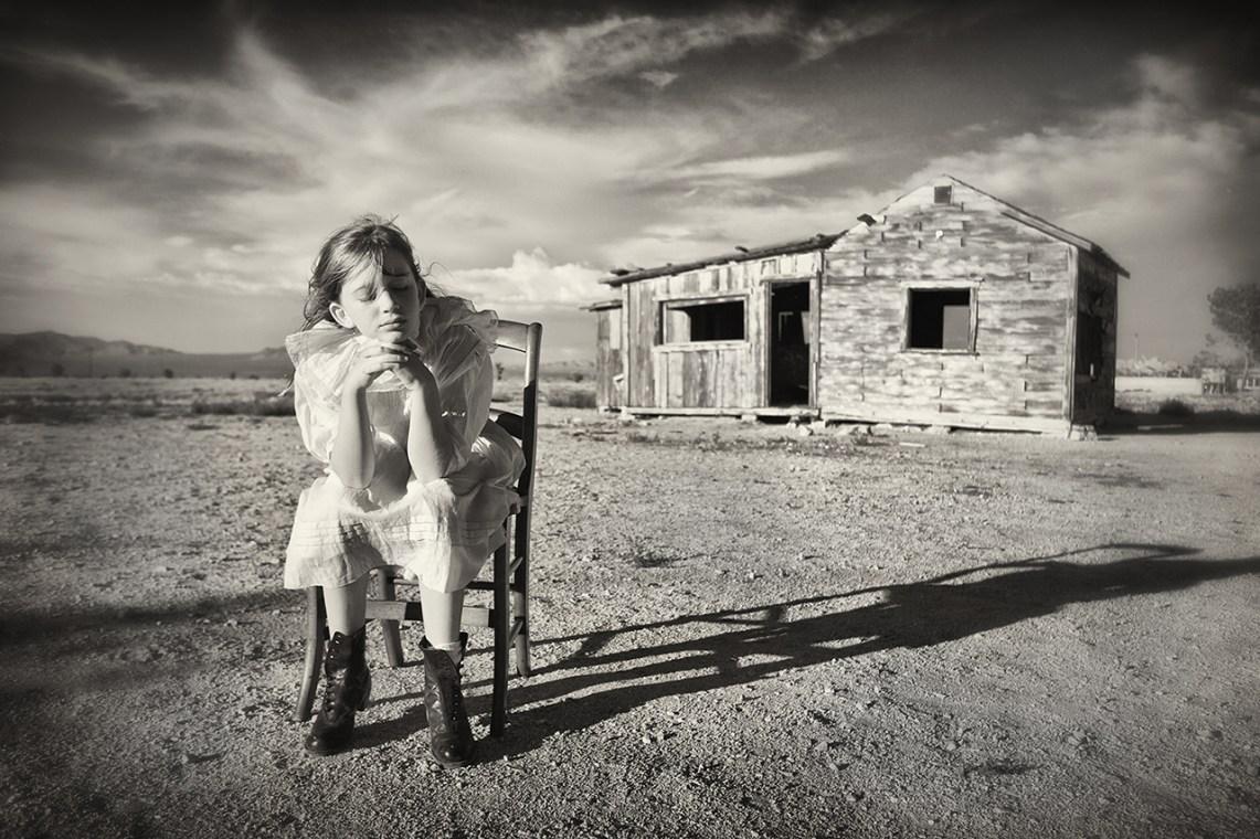 Turned Away From the World © Carolyn Hampton
