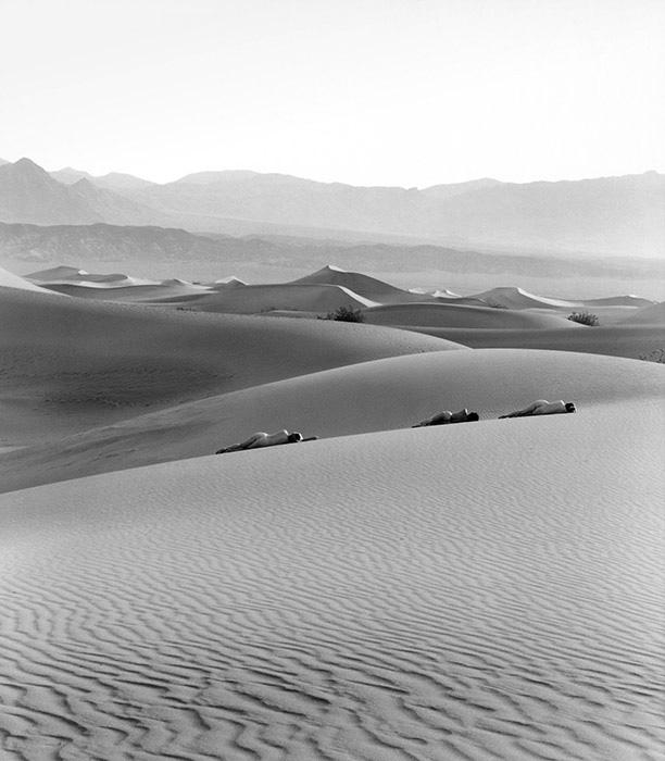 Three Nudes on Dunes ,Edna Bullock © Bullock Family Photography LLC