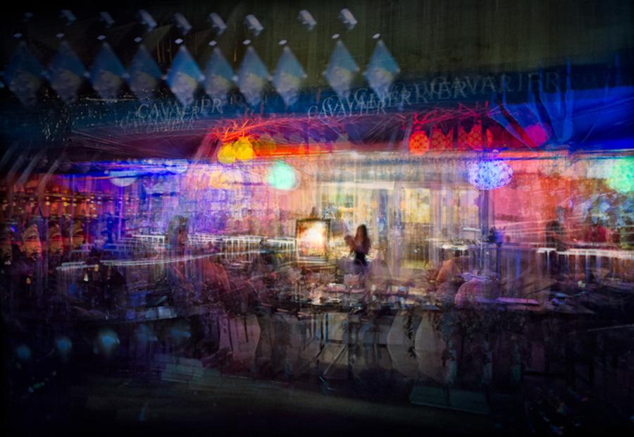 Hostess, Ocean Drive Restaurant, Miami Beach, 2012 by Jim Kasson
