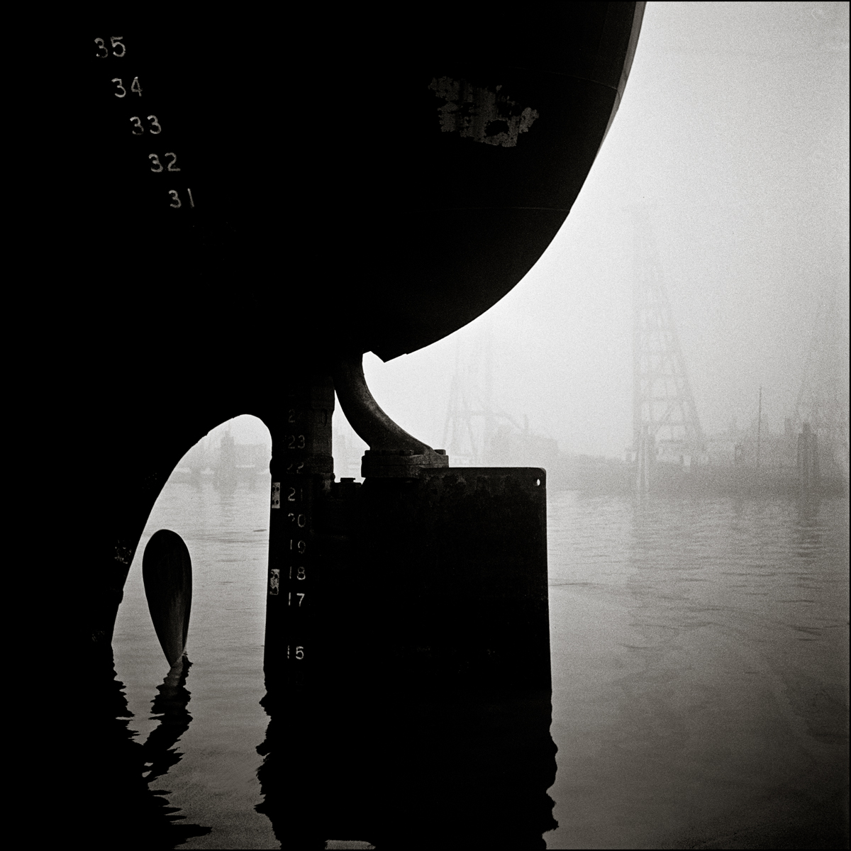 Ship Rudder Islais Creek, © Fred Lyon