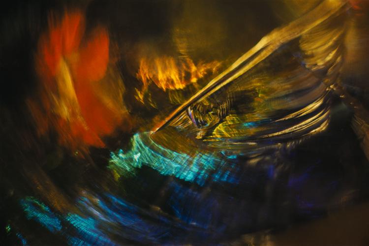 Color Light Abstraction, 1960, 1054 Wynn Bullock© Bullock Family Photography, LLC