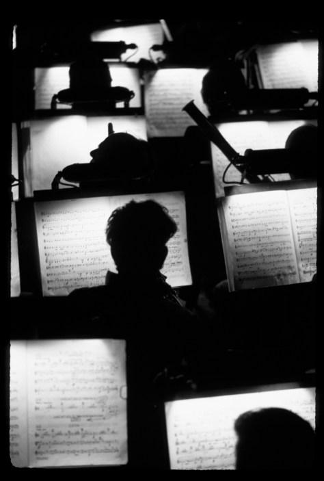 Orchestra Pit, San Francisco Opera House © Fred Lyon
