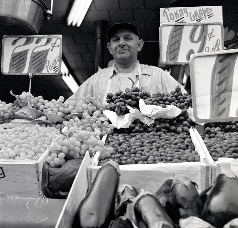 Grape Vendor © Martin Elkort