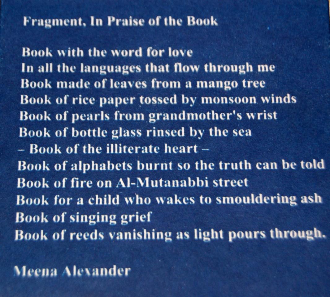 Meena Poem © Jesseca Ferguson