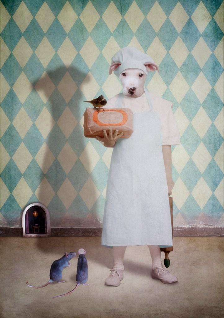 Oliver the Baker © Martine Roch