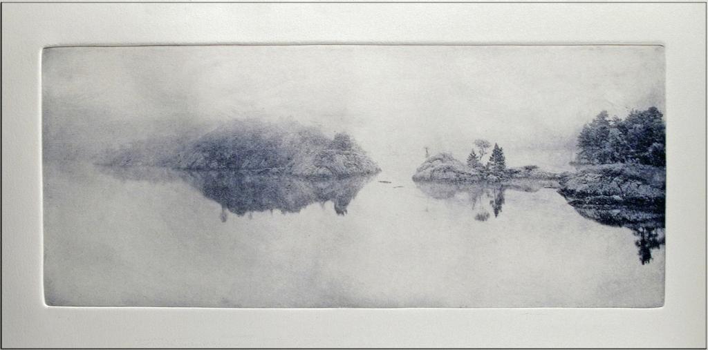 Mind the Gap, photogravure etching, © Peter Miller