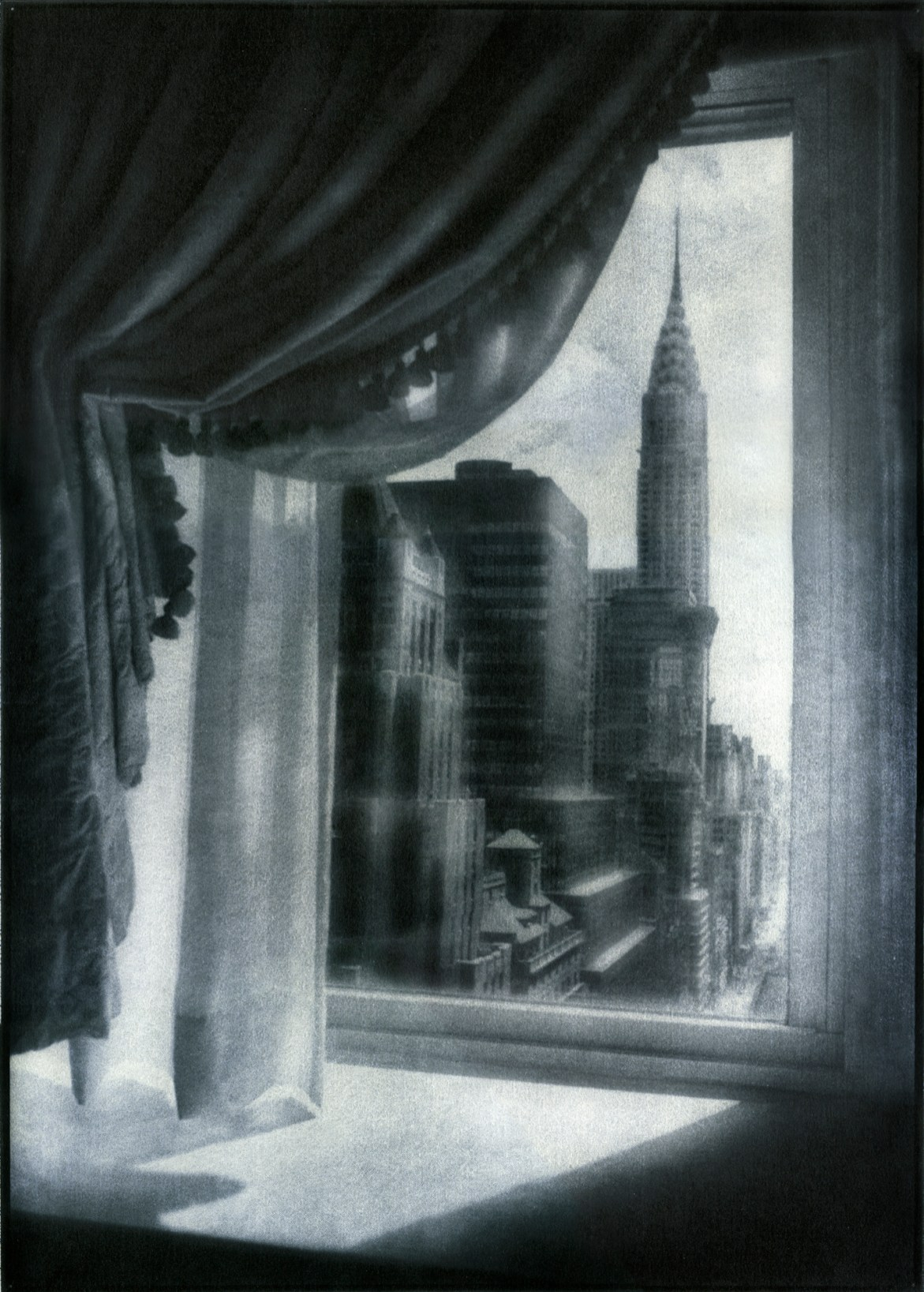 The Chrysler Building © Peter Liepke,Gum Bichromate
