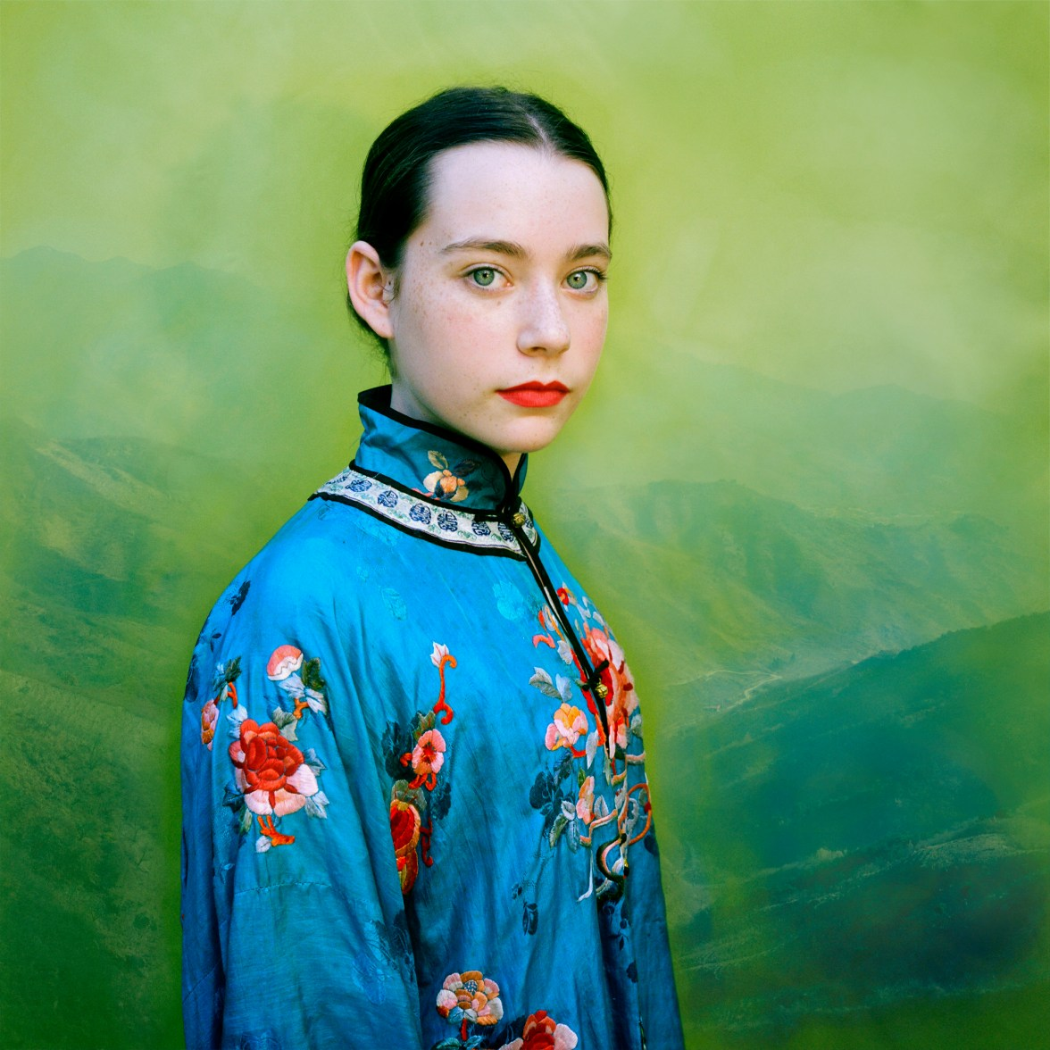 Lucy in Turquoise © Aline Smithson
