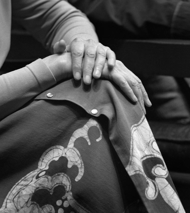 Charis Wilsons Hands © Alan Ross