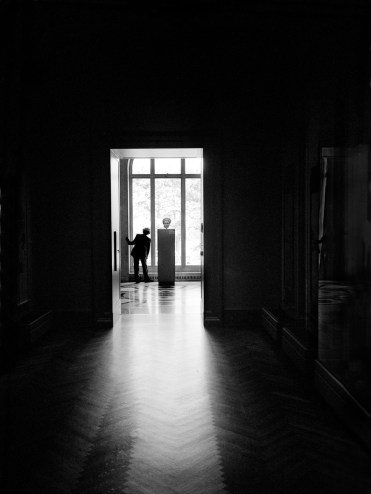 Museum Guard, © Norm Snyder