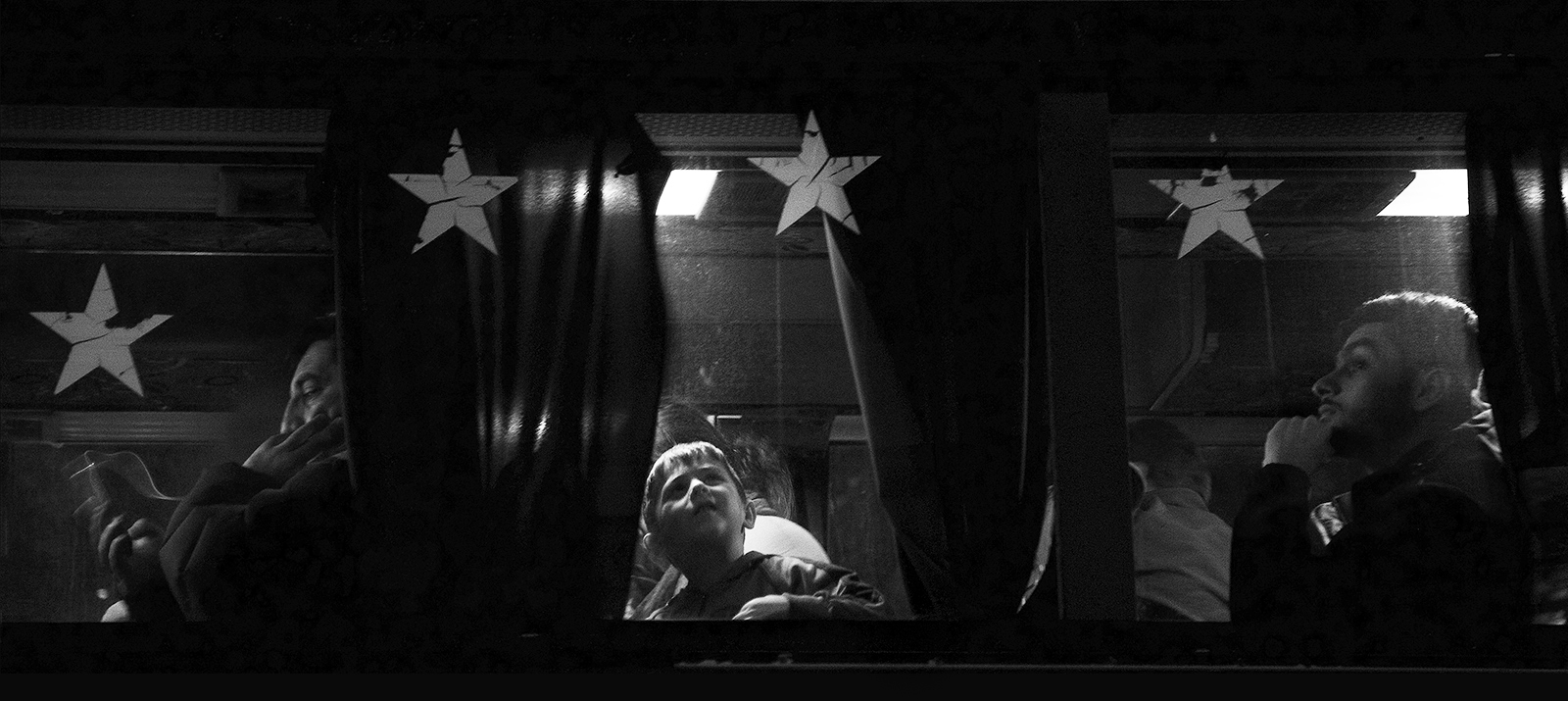 On the Bus © Joanne Teasdale