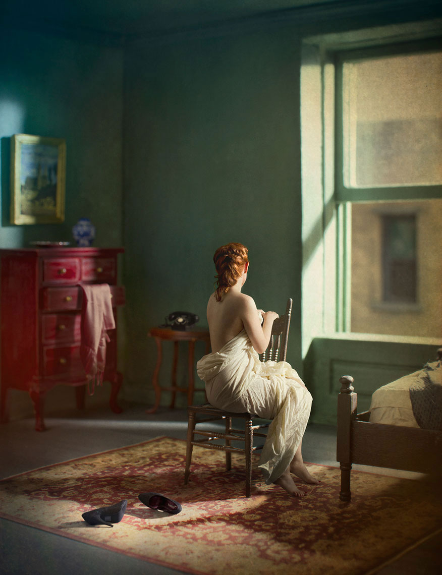 Green Bedroom © Richard Tuschman