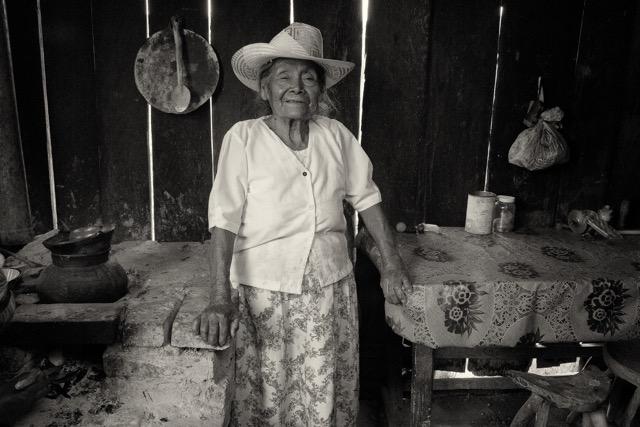 Ines Idelfonso Lopez Cruz, La Mixteca © Judith Haden