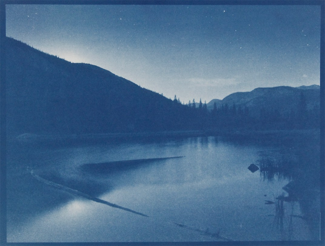 Lost Lake,cyanotype © Denis Roussel