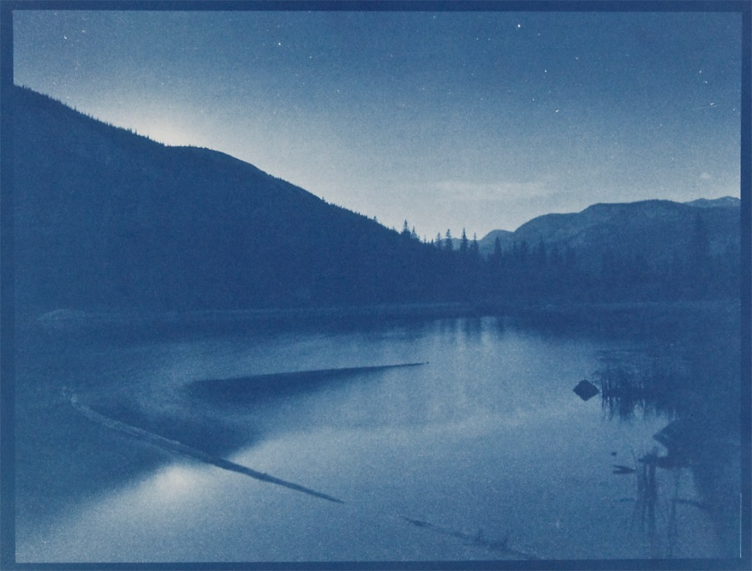 Lost Lake, cyanotype © Denis Roussel