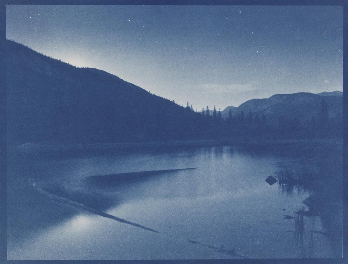 Lost Lake,cyanotype © Denis Roussel