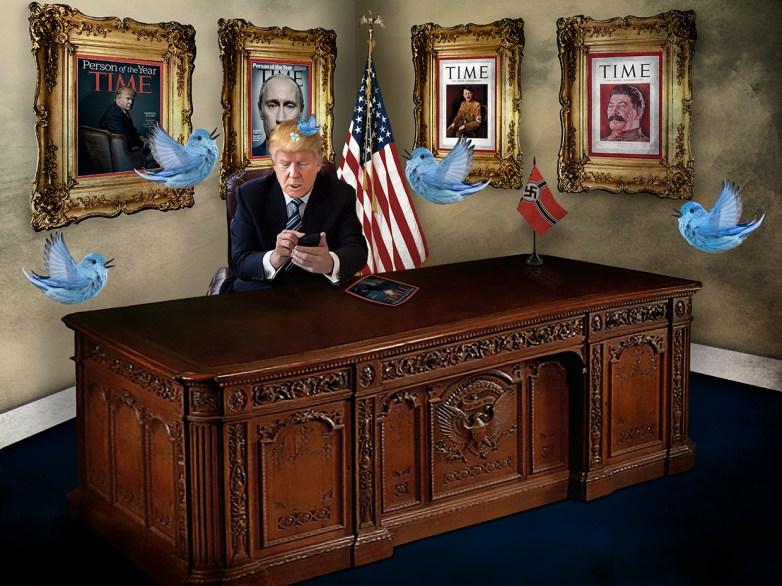 Not My President 35 © Leslie Hall Brown