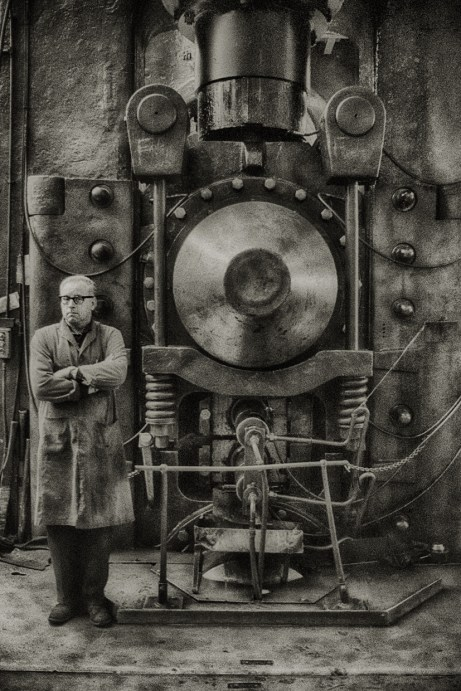 Steel Mill 3, 1960s © John Claridge