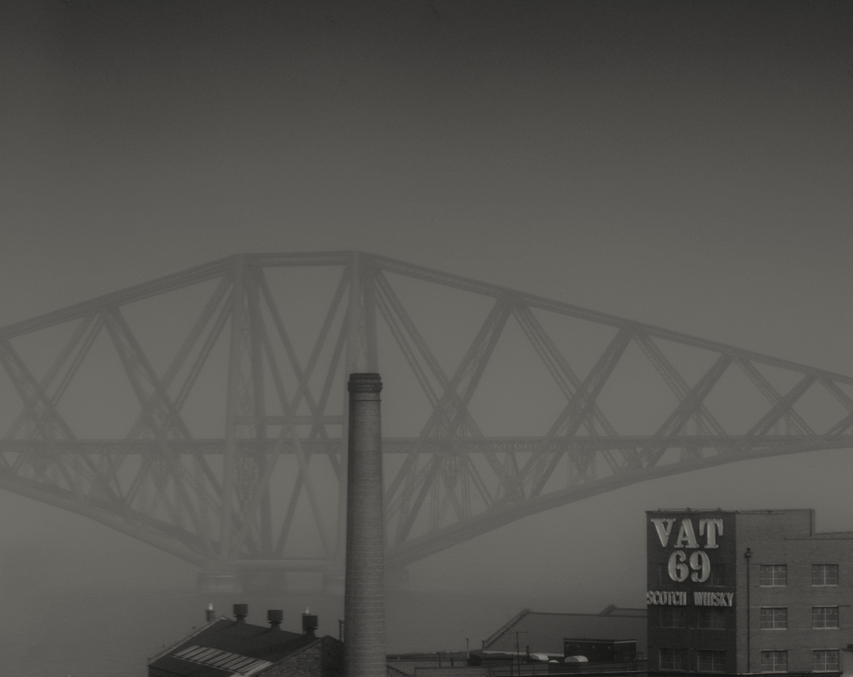 The Forth Bridge in Fog © John Claridge