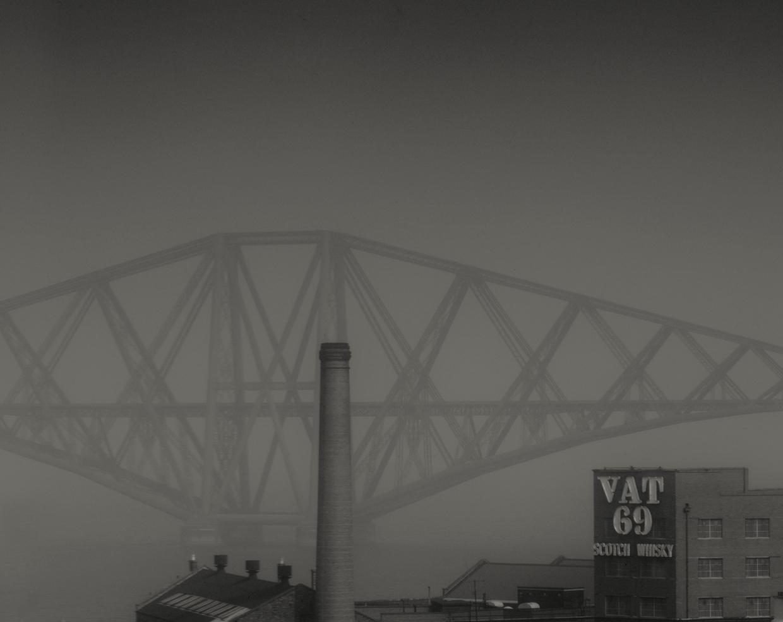 The Forth Bridge in Fog © John Claridge