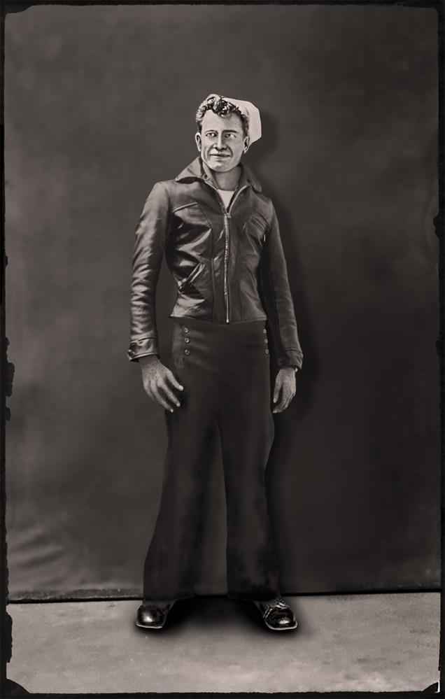 Dad at 17, Wesley Hall / Leslie Hall Brown