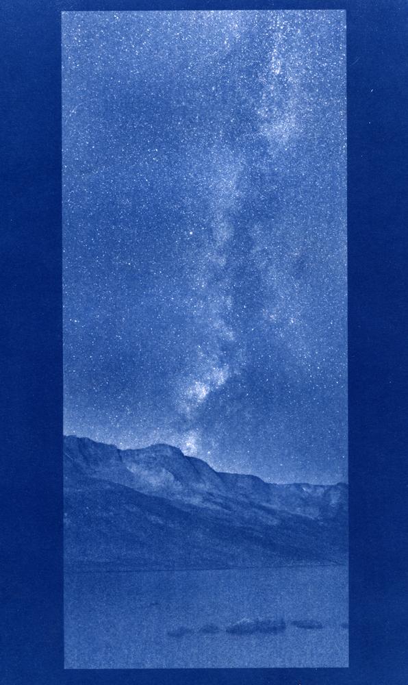 Summit Lake, cyanotype © Denis Roussel