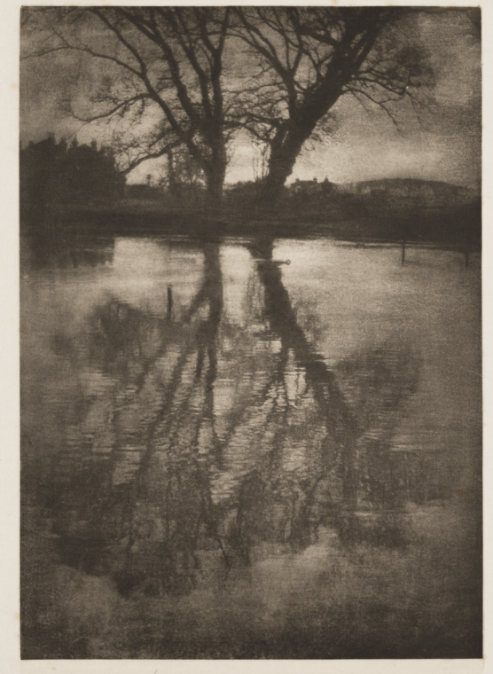 Reflections, Weston-on-the-Green 1899, Photogravure, George Davison, The Royal Photographic Society