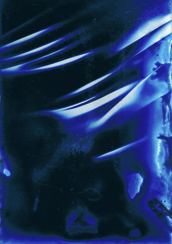 Glass Cyanotype 1 © Robert Schaefer