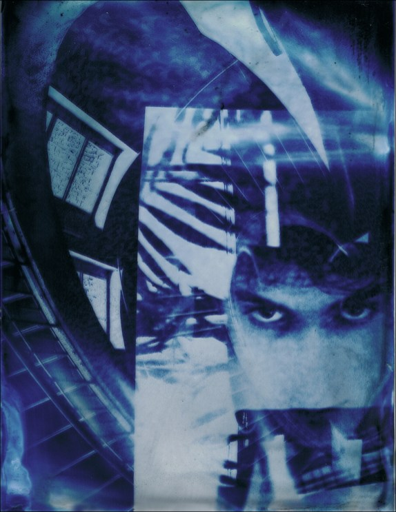 Glass Cyanotype 5 © Robert Schaefer