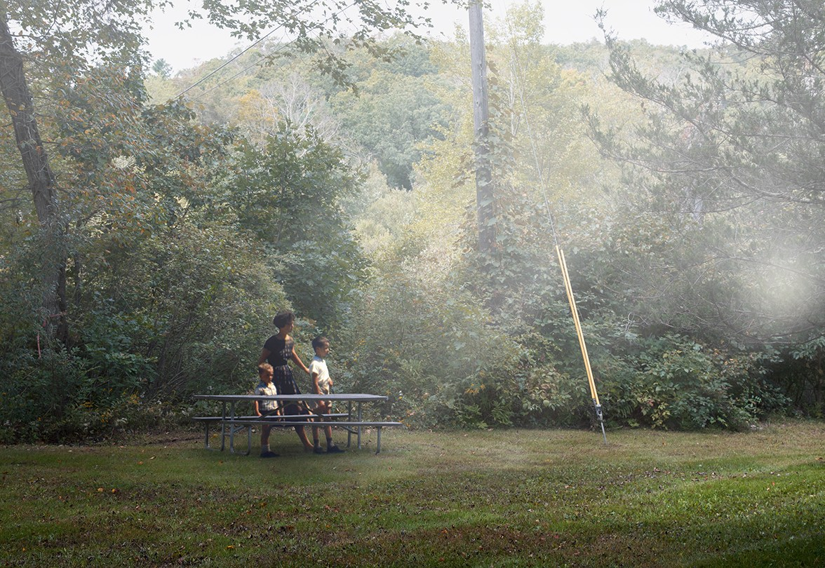 Picnic Table © Dominic Lippillo