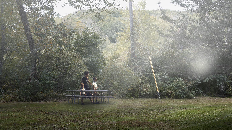 Picnic Table © Dominic Lippillo
