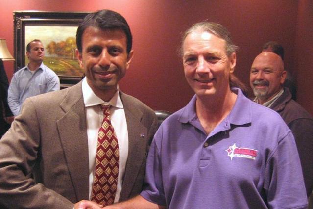 Me and Governor of Louisiana, Bobby Jindal