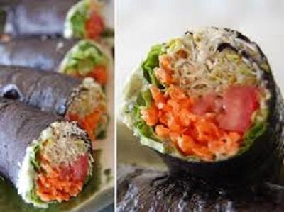 ロー手巻き寿司