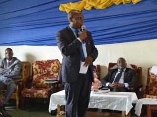 David Bucura, Friends Church Rwanda Legal Representative (Superintendent)