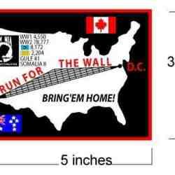 3x5 rectangular patch