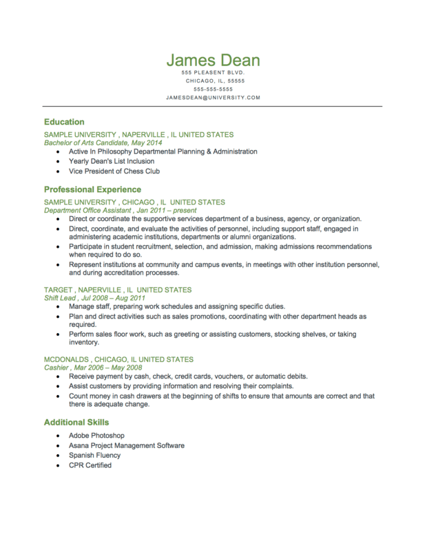 Non Traditional Resumes Examples. Resume Was Written Using A