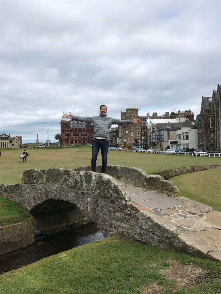 Golf Old Course à St-Andrews