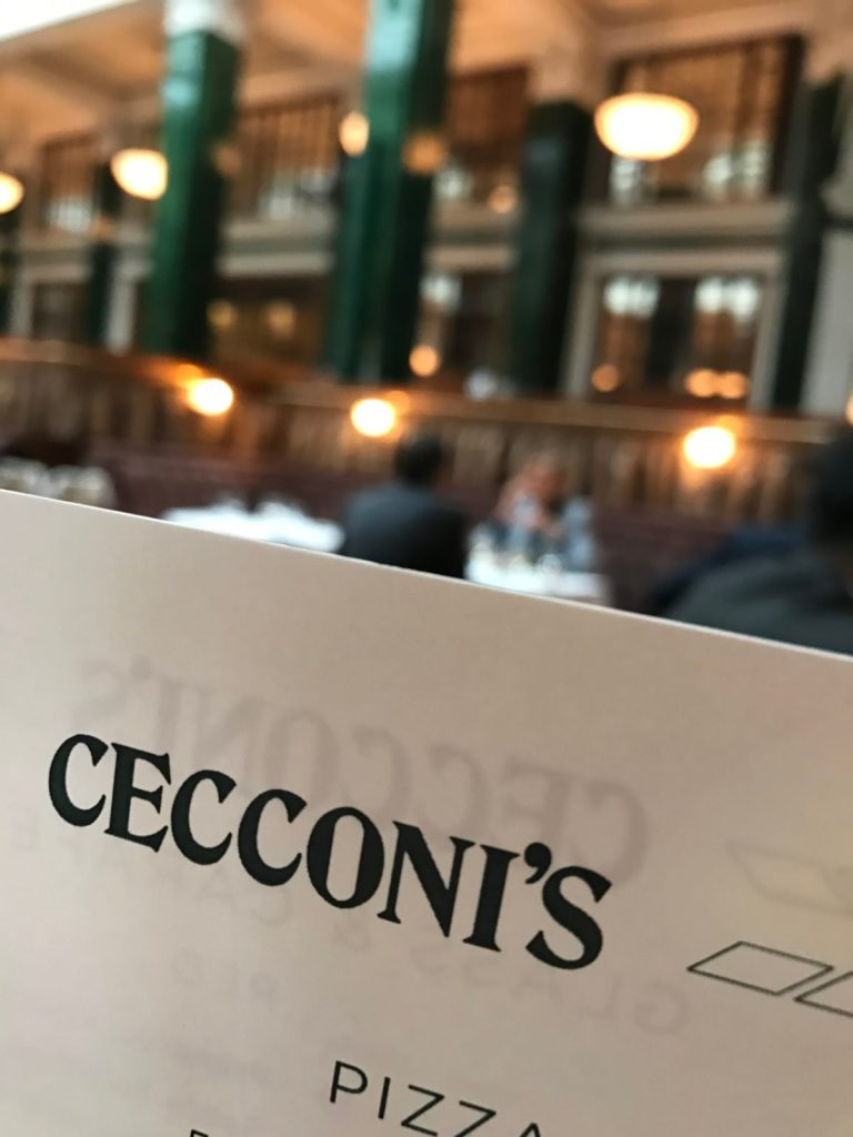 Restaurant Cecconi's, Hôtel The NED, Londres