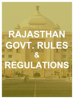 Raj. Govt. Rules
