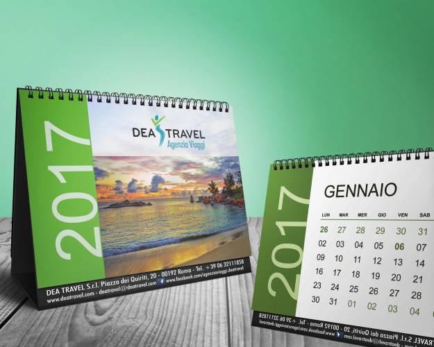 Calendario da tavolo rg grafica roma